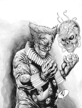 Carnival of Souls 0 BW Cover by RudyVasquez