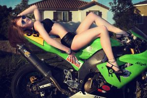 Bike Shoot 1 by Vanna-Noel