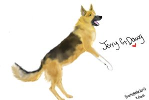 Jerry G Dawg by BamaBelle2012