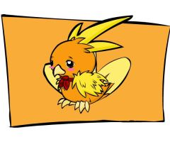 Mystery Dungeon: Torchic by Iron-Zing