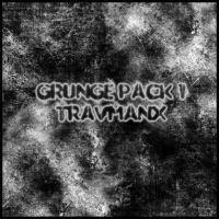 Grunge Pack 1 by travmanx