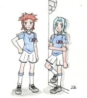 Inazuma Eleven 3 - Styler and Clector by KingNanamine87