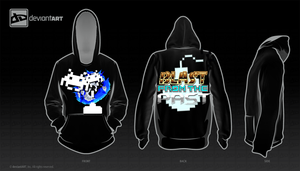 8-Bit Hoodie. BLAST FROM THE PAST!!! by IBarrageI
