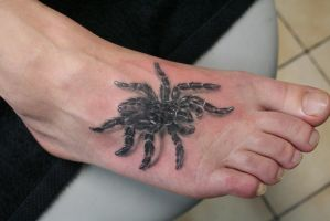 Spider Tattoo by 2Face-Tattoo