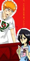 Rukia wants fashion magazine by xmeltedxazukix