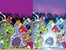 AngryBirds-TF#01_cover_colors by michaeltoris