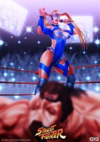 Rainbow Mika Vs Zangief by GGG85