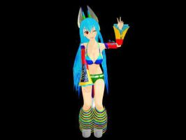 MMD Oh hello there Raver Rui by chibicosplayer