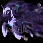 Nightmare though space by Dor-Belle