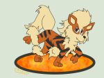 The fire canine by samart0098