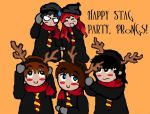Prongs Stag Party but the Marauders Doesn't Get It by WeAreMarauders