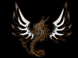Tattoo6 winged snake dragon by Wolfshire008