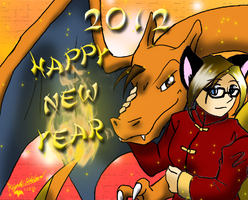 Year of the Dragon 2012 by VampiricYoshi