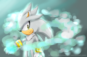 Silver the Hedgehog by Unichrome-uni