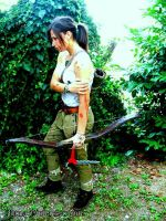 Lara Croft a survivor is born by mikosplay