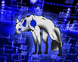ah yes robot wolf by xXHuskyHurricanesXx