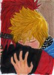 RAW_Axel and Roxas II by AurelGweillys