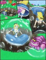 Down the bubble hole by Spartly
