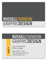 Personal Business Card Concept by Russer