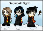 Snowball Fight -- M-W-PP by blue-fire