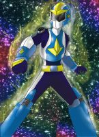 Azure Comet Ranger (Whispers/ Post Omega) by Astra-Con727