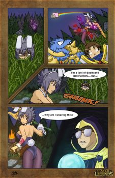Dat Bunny Riven Comic by klyntoc