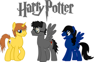 Harry Potter Ponified 4 by asdflove