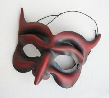 Red Devil Mask by nondecaf