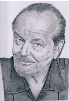 Jack Nicholson by Ned-The-Hat