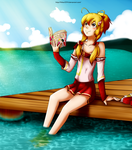 Anne by the Lake by hikari2314