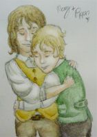Merry and Pip :Guess how much I love you: by Iseldelth