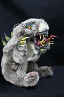 Rabid Rabbit by RavendarkCreations