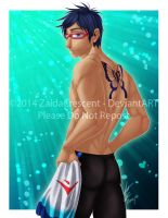 FREE! - Rei by ZaidaCrescent