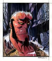 Hellboy Portrait 2012 by BillReinhold