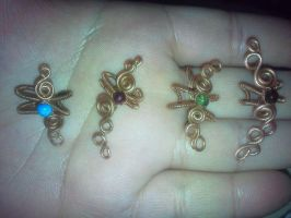4 ear cuffs by PK-Photo