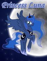 Princess Luna by Xain-Russell