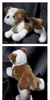 Douglas Medium Floppy Dogs - Buster Bulldog by The-Toy-Chest