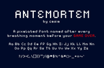 Antemortem by cesiedesign