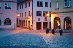 Morning in Rothenburg ob der Tauber II by mannromann