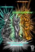 The Power of Three: Warriors by MoonTiger456