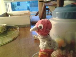 pipe cleaner ducky by RavenDestiny97