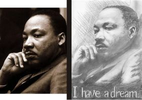 MLK- I have a dream by Pezqui