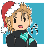 KH Christmas Icons - Demyx by infinitehearts