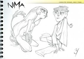 NIMA- First designs by EnriqueFernandez