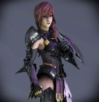 HQ Lightning Farron portrait by Kukla-Factory