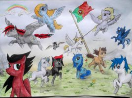 Tuga Bronies - Contest entry by duh-veed