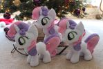 Sweetie Belles under the tree by WhiteDove-Creations