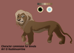 Character Commission: Imvula by KashimusPrime