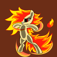Pony of Fire! by Rex42