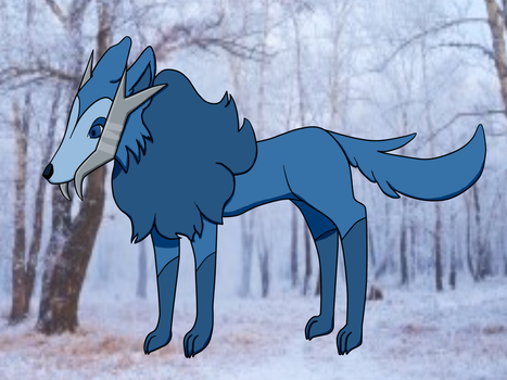 Moon wolf thing by Lupen69